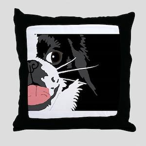 Lucky Chin Benefit Throw Pillow