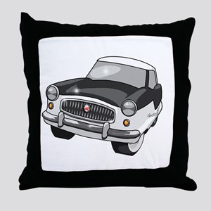 1958 Nash Metropolitan Throw Pillow