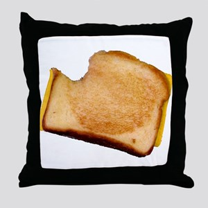 Plain Grilled Cheese Sandwich Throw Pillow