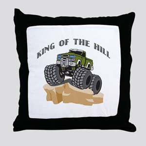 Rock Crawling 4 Wheeling Throw Pillow