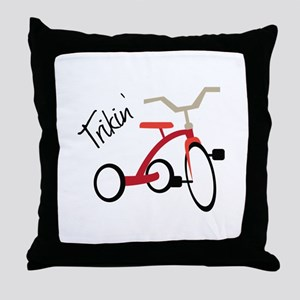 Trikin Throw Pillow
