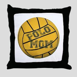 Polo Mom Throw Pillow