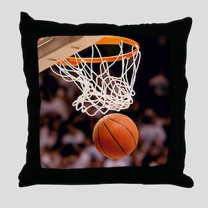 Basketball Scoring Throw Pillow