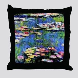 MONETCalender Throw Pillow
