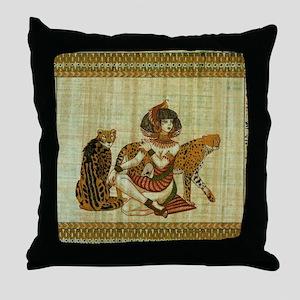 Cleopatra 6 Throw Pillow