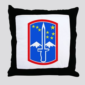 SSI -172nd Infantry Brigade Throw Pillow