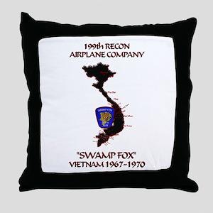 199th RAC Throw Pillow
