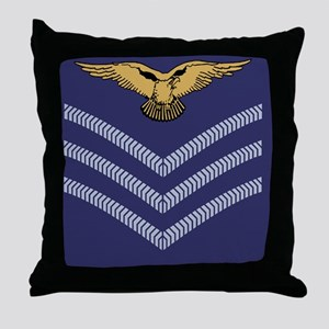 RAF-Sergeant-Aircrew-Sticker-1 Throw Pillow