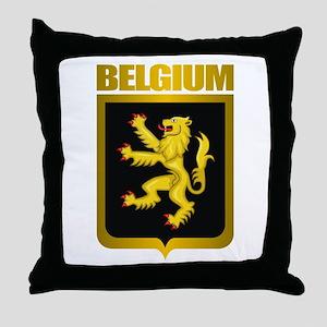 """""""Belgian Gold"""" Throw Pillow"""