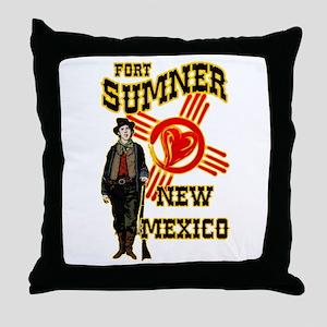 FORT SUMNER LOVE Throw Pillow