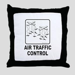Air Traffic Control Throw Pillow