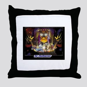 3dfx Mad Scientist Throw Pillow