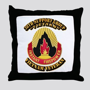 38th Support Group Throw Pillow