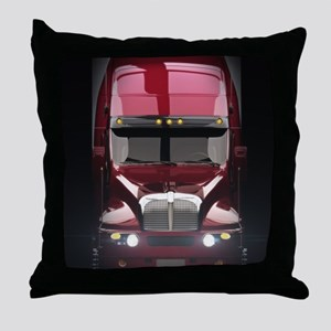 Heavy Truck Throw Pillow