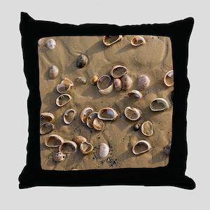Slipper Limpet (Crepidula fornicata) Throw Pillow