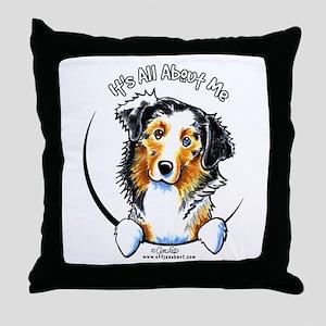 Australian Shepherd IAAM Throw Pillow