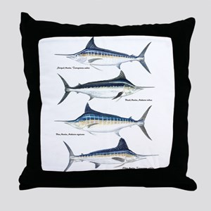 4 Marlin Throw Pillow