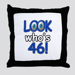 Look who's 46 Throw Pillow
