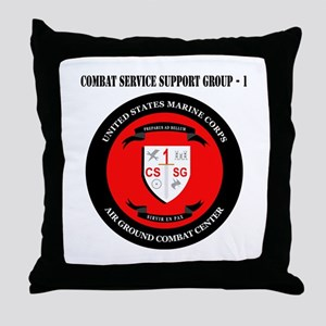 Combat Service Support Group - 1 with Text Throw P