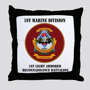 1st Light Armored Reconnaissance Bn with Text Thro