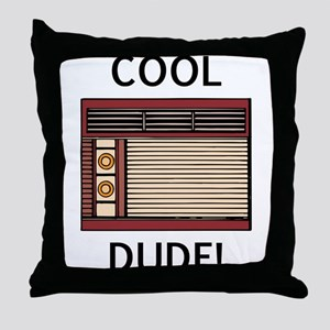 cool dude Throw Pillow