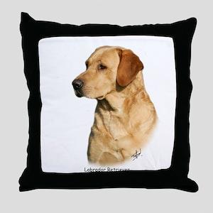 Labrador Retriever 9Y297D-038a Throw Pillow