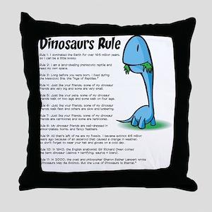 Dinosaur5 Throw Pillow