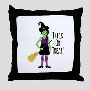 Trick - Or - Treat! Throw Pillow
