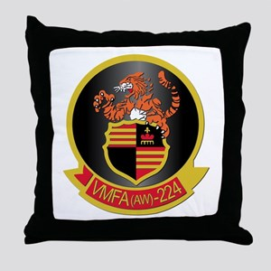 USMC - VMFA(AW) - 224 Throw Pillow
