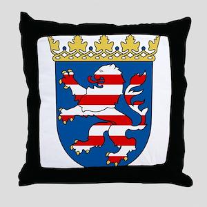 Hessen Wappen Throw Pillow