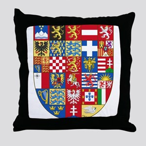 European Union Coat of Arms Throw Pillow