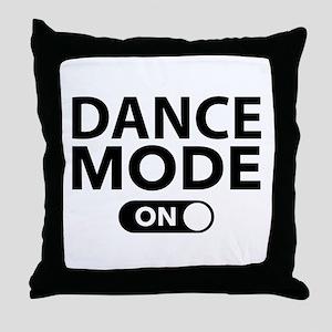 Dance Mode On Throw Pillow