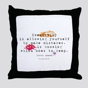 Definition of Art Throw Pillow