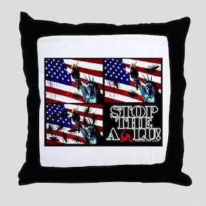 STOP THE ACLU! Throw Pillow