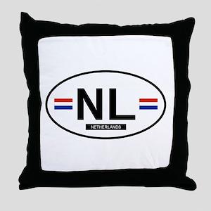 Netherlands 2F Throw Pillow