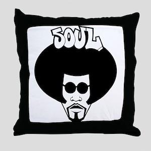 Soul Brother Throw Pillow