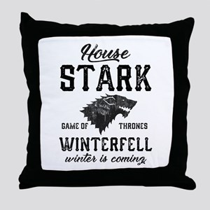 House Stark Throw Pillow