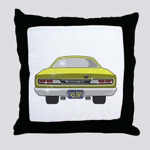 1969 Super Bee Throw Pillow