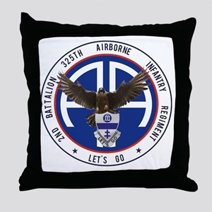 Falcon v1 - 2nd-325th Throw Pillow