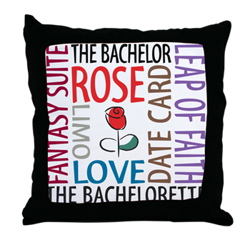the bachelor throw pillow