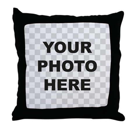 Your Photo Here Throw Pillow
