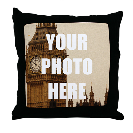 Your Photo Here Personalize It! Throw Pillow