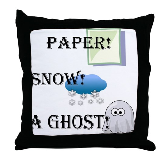 Paper! Snow! A Ghost