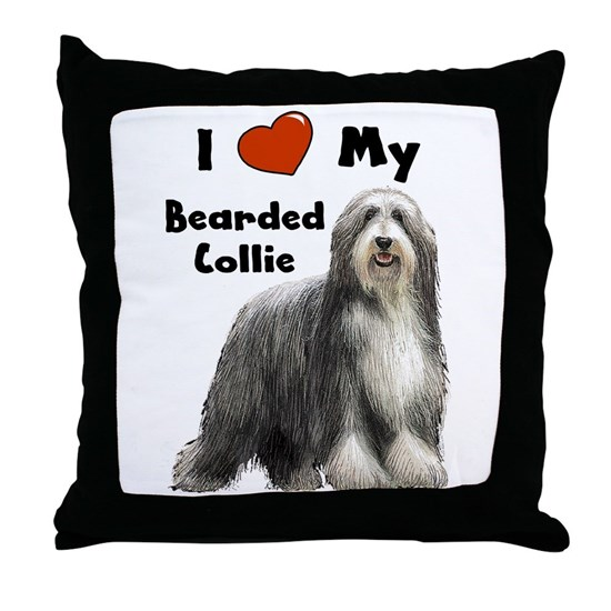 Bearded Collie I Love My