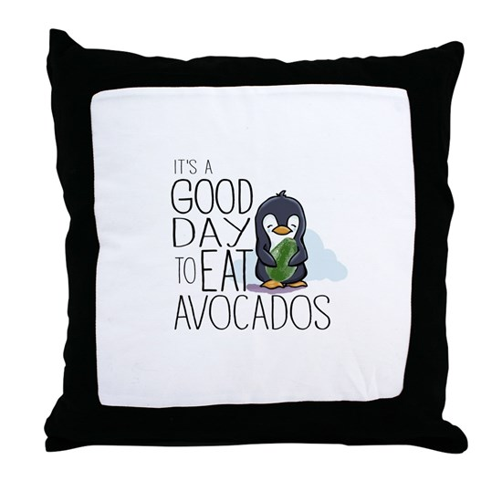 Its a Good Day to Eat Avocados Penguin
