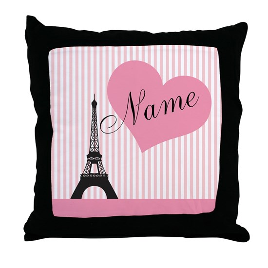custom Add Name text  Parie Eiffel tower