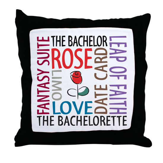 The Bachelor The Bachelorette throw pillow