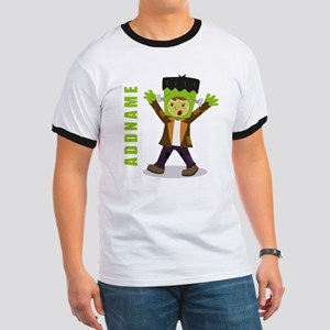 Halloween Green Goblin Personalized Ringer T