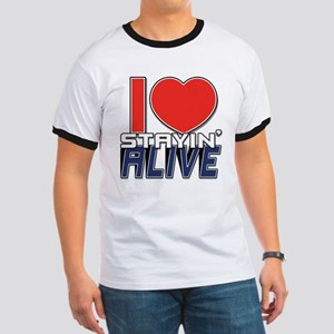 STAYIN ALIVE [I Love/I Heart Staying Alive] Ringer