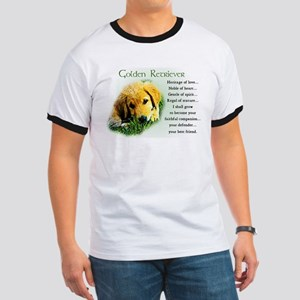Golden Retriever Puppy Ringer T